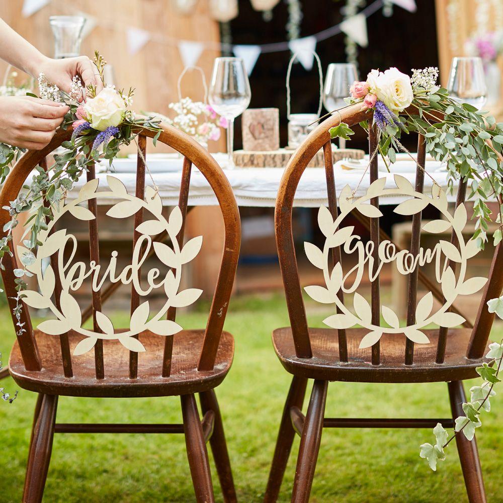 Country Wedding Decoration Ideas Bride & Groom