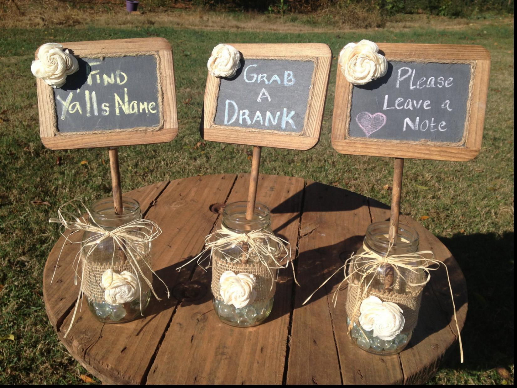 Country Wedding Decoration