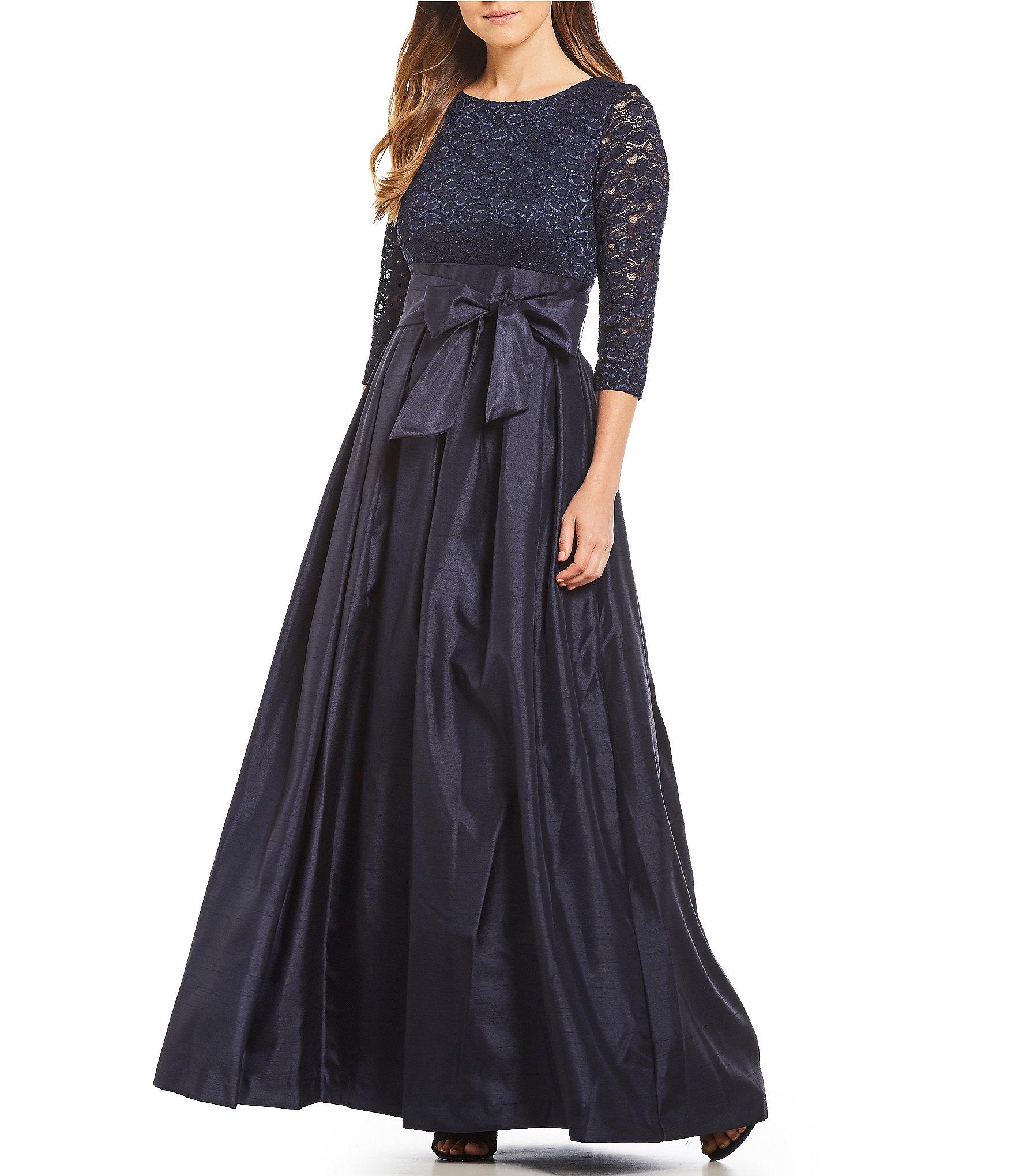 Dillards Mother of Bride Dresses Black