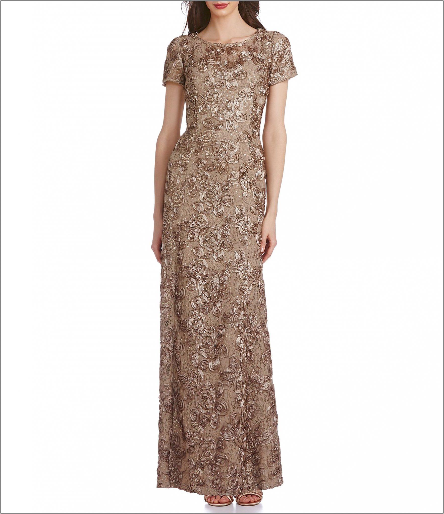 Dillards Mother of Bride Dresses Brown