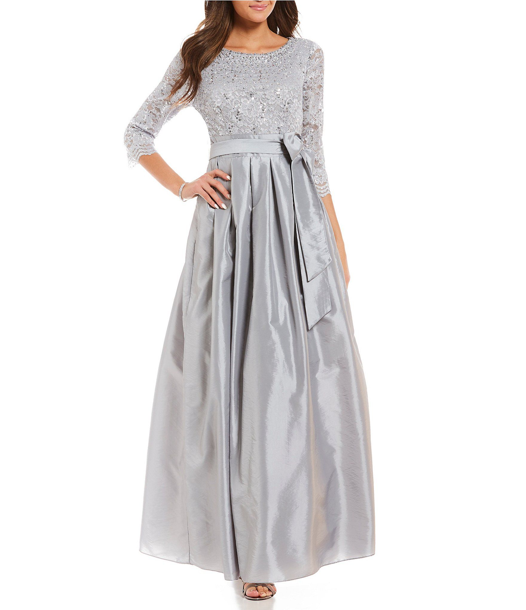 Dillards Mother of Bride Dresses Grey