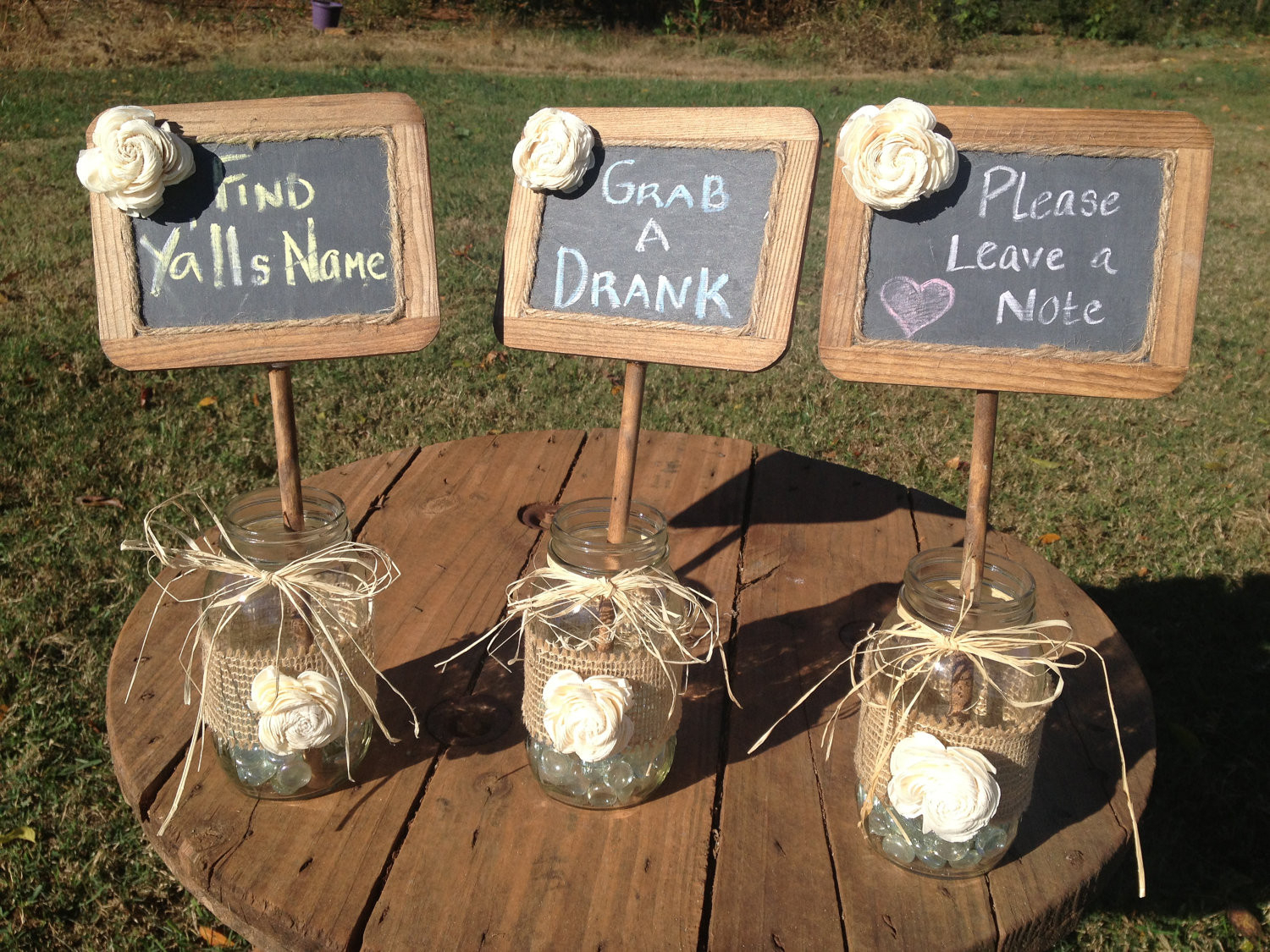 Rustic Country Wedding Decoration Ideas