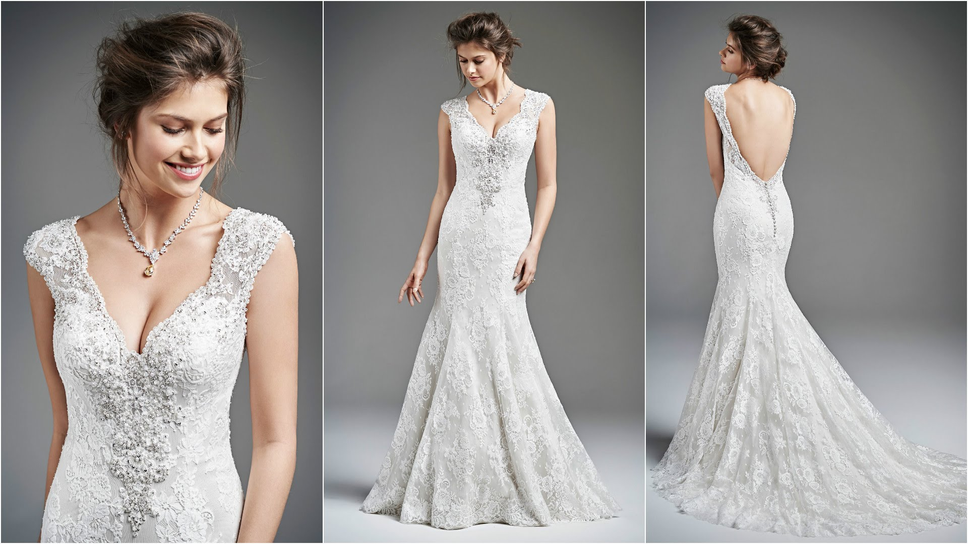 Simple Mermaid Wedding Dresses