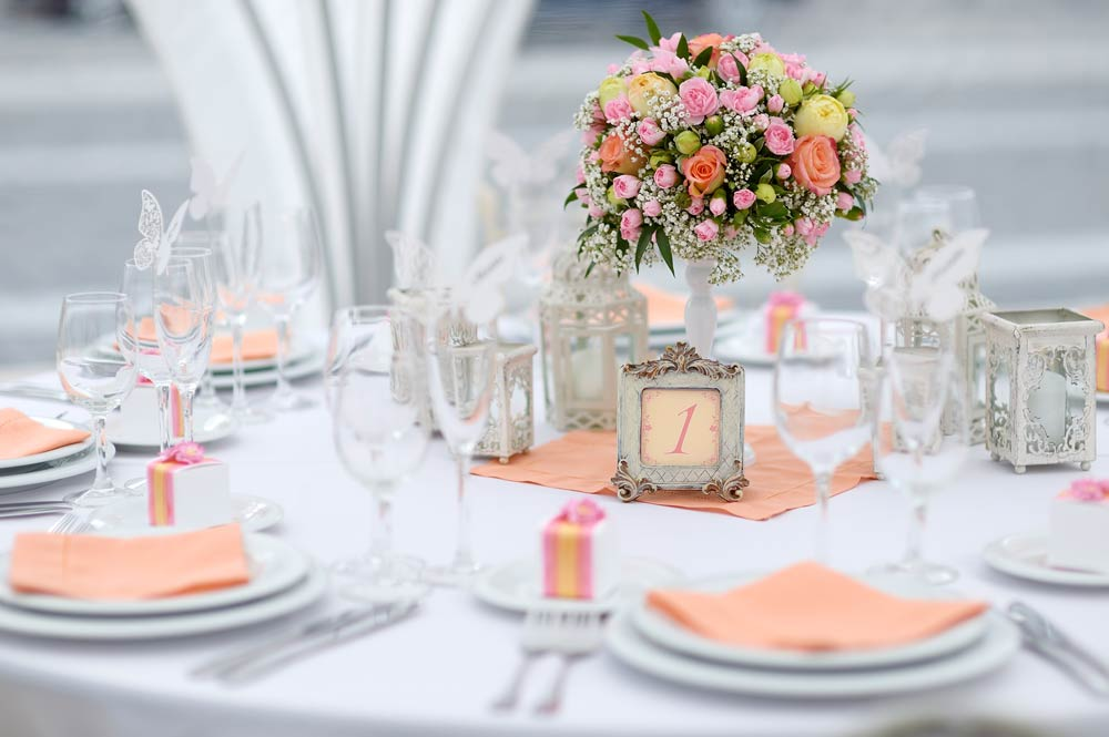Simple Table Settings For Weddings Castrophotos