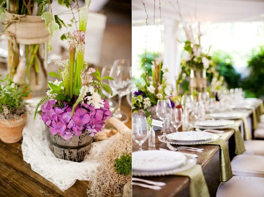 Spring Wedding Table Decorations Ideas