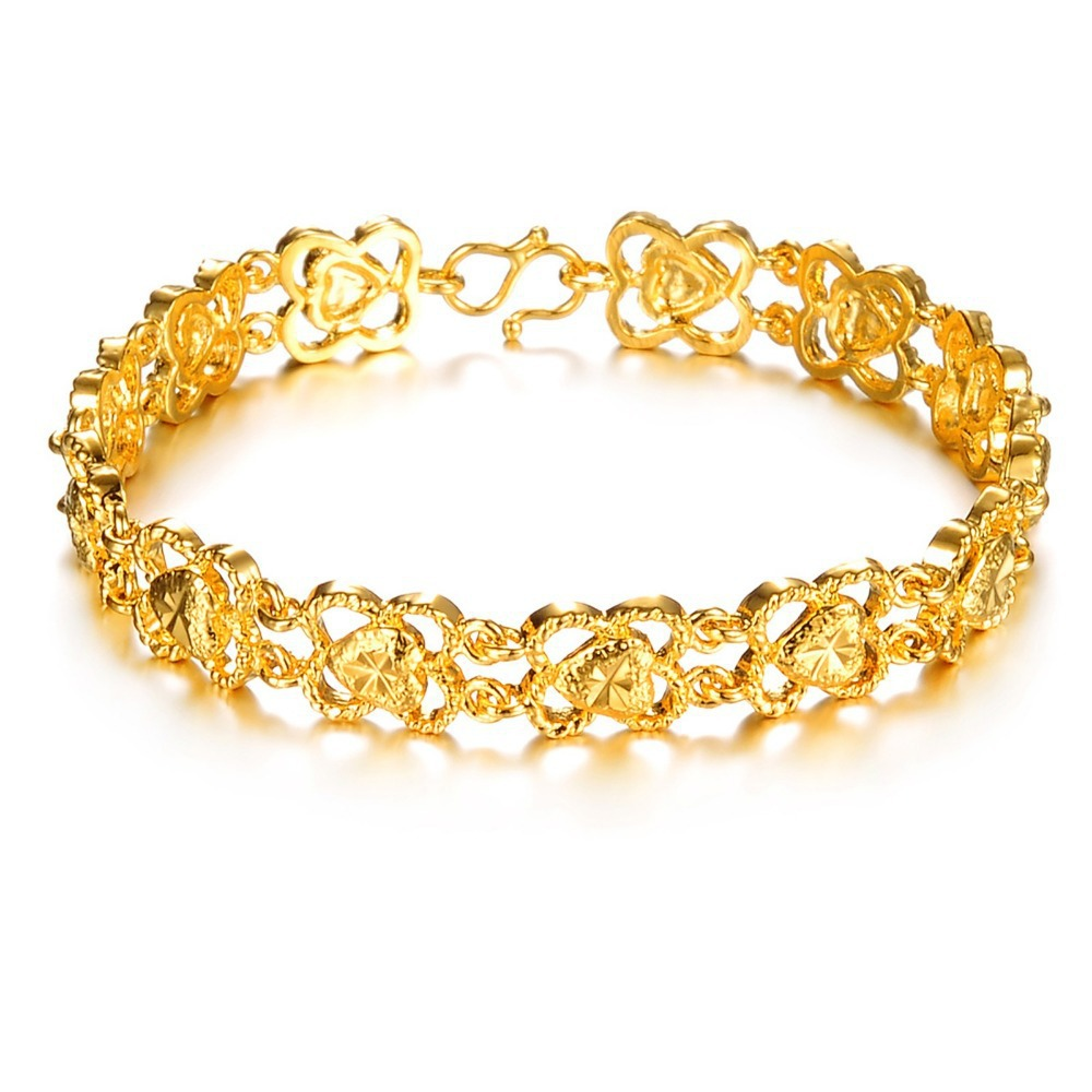 6c008a539 simple gold bracelet price images Gold bracelets for women gift in special  occasions balochhal jpg