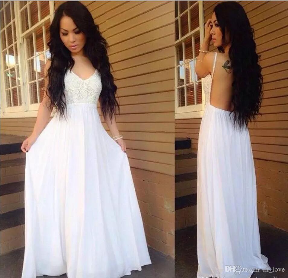 Summer & Casual Beach Wedding Dresses