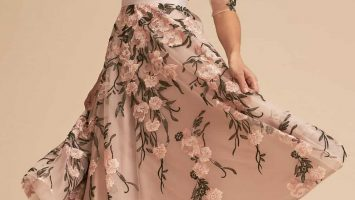 floral sleeves mother of the groom dresses