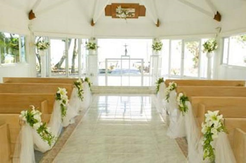 decorations for church holy matrimony