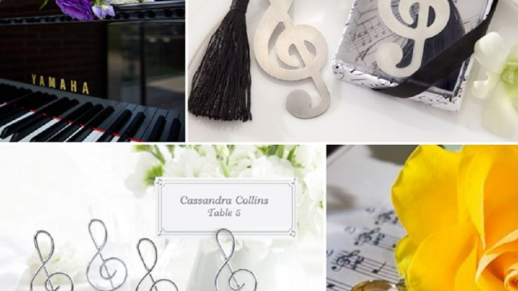 musical wedding theme