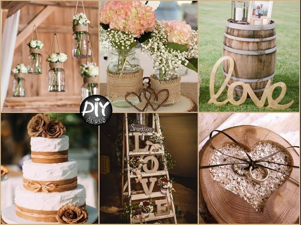 wedding decoration - rustic