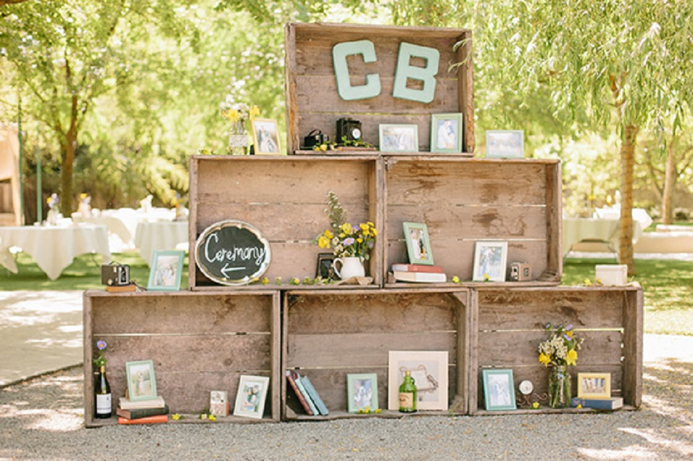 wedding decoration rustic