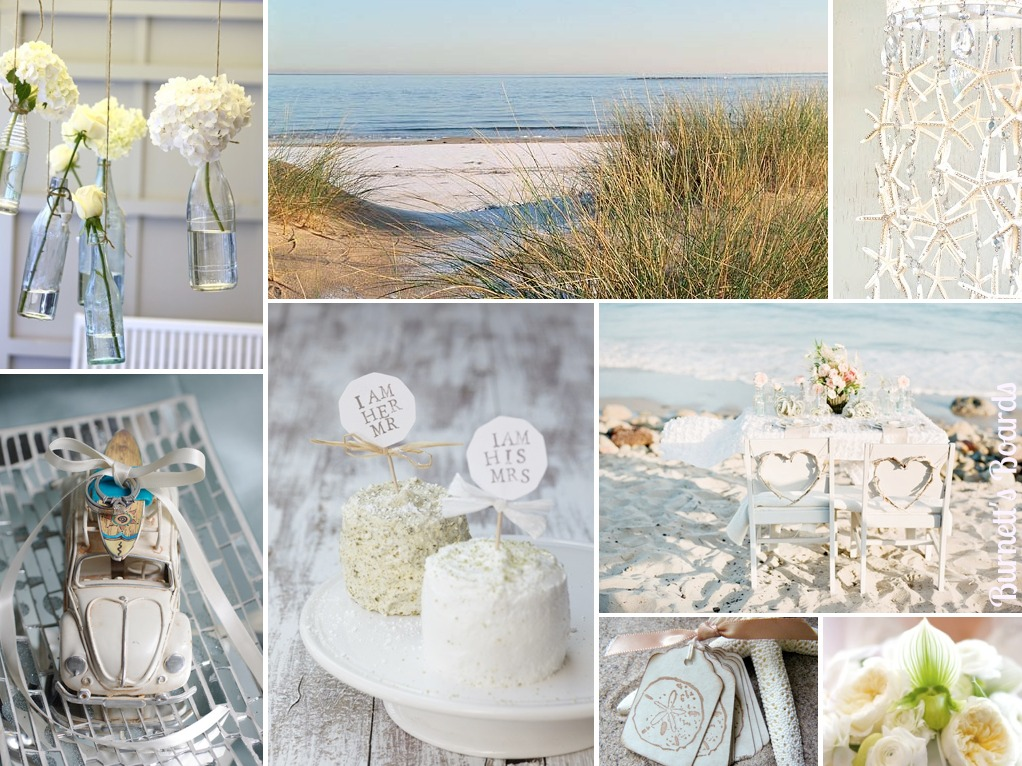 seaside wedding theme