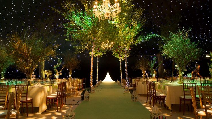 whimsical weddng decoration