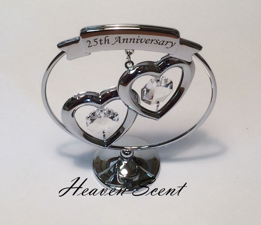 It's a silver gift for 25th anniversary