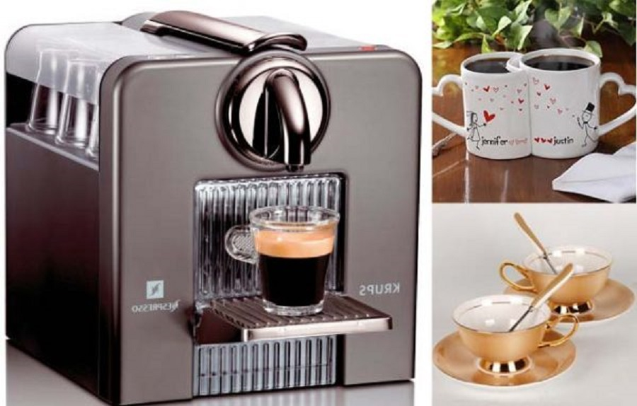 a coffee maker as wedding gift for best friend