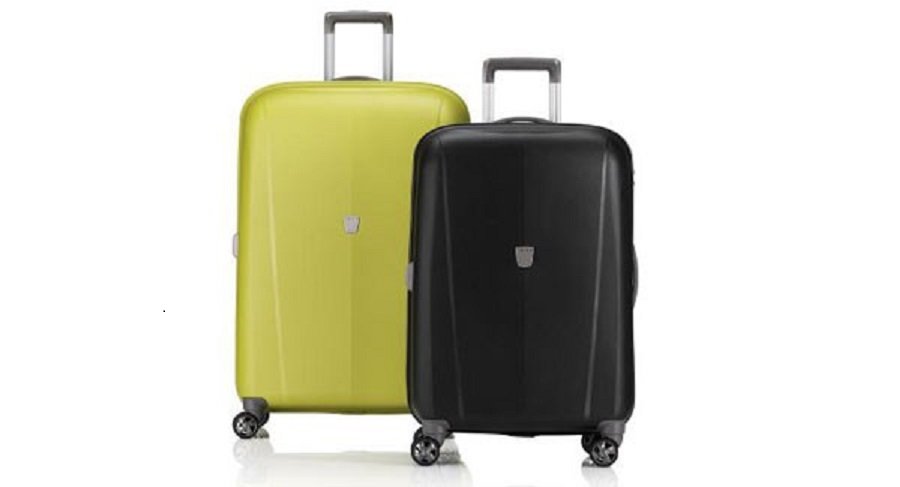 couple suitcases as wedding gift for best friend