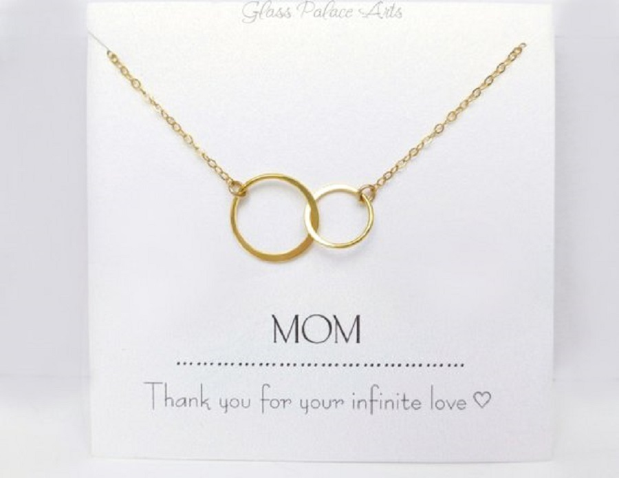 it's a set of jewelry for mom as wedding gift for parents