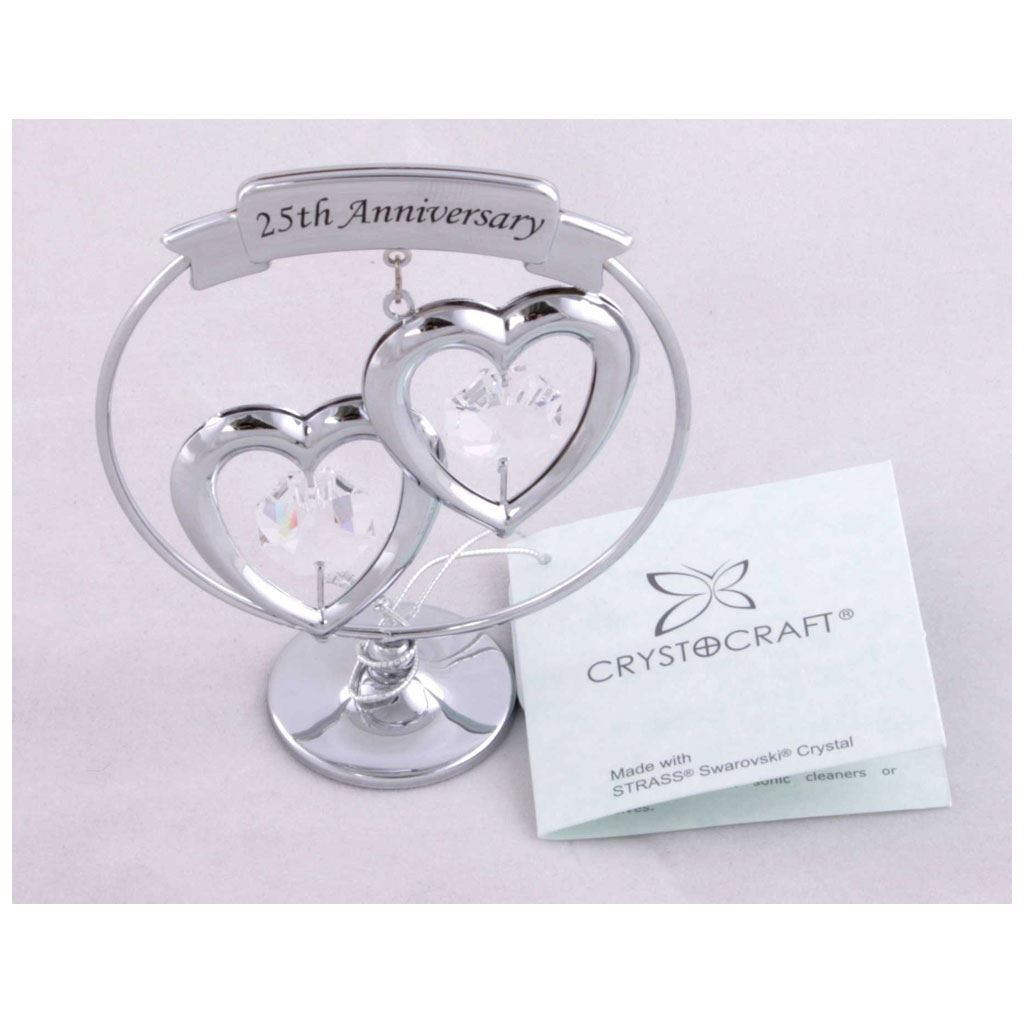 it's a silver made gift for silver wedding anniversary