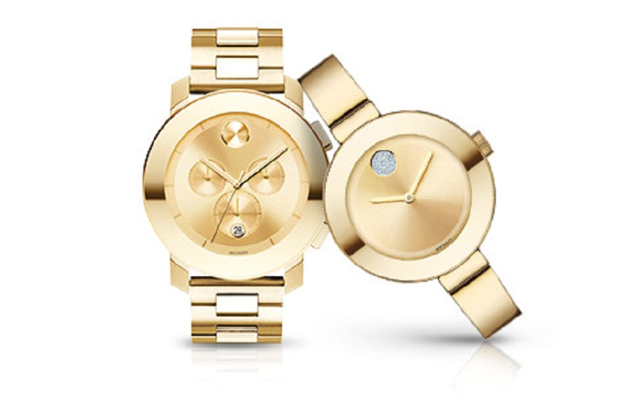 these are couple golden watches for 50th anniversary gifts - traditional wedding gifts