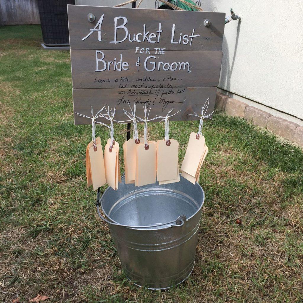 Country Wedding Decoration Ideas Bucket list