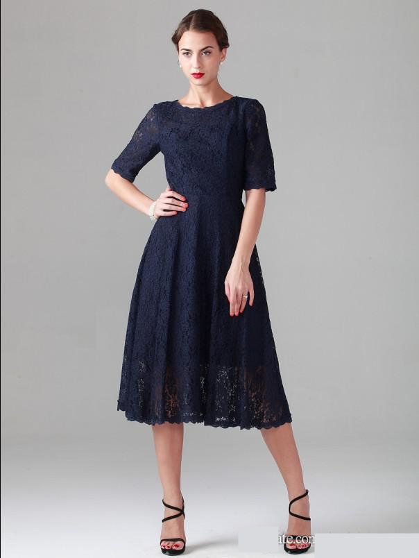 Dillards Mother of Bride Dresses Blue Navy