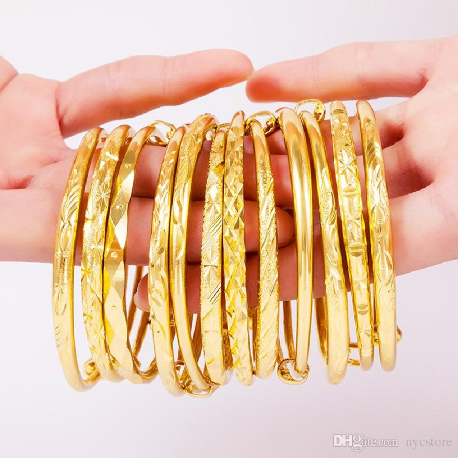 Dubai Gold bracelets for Women