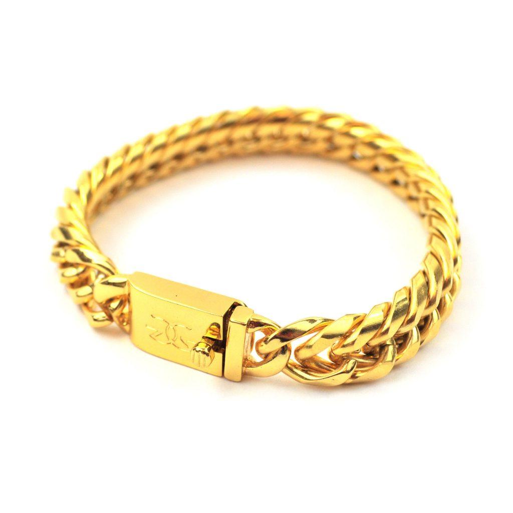 Link Gold bracelets for Women