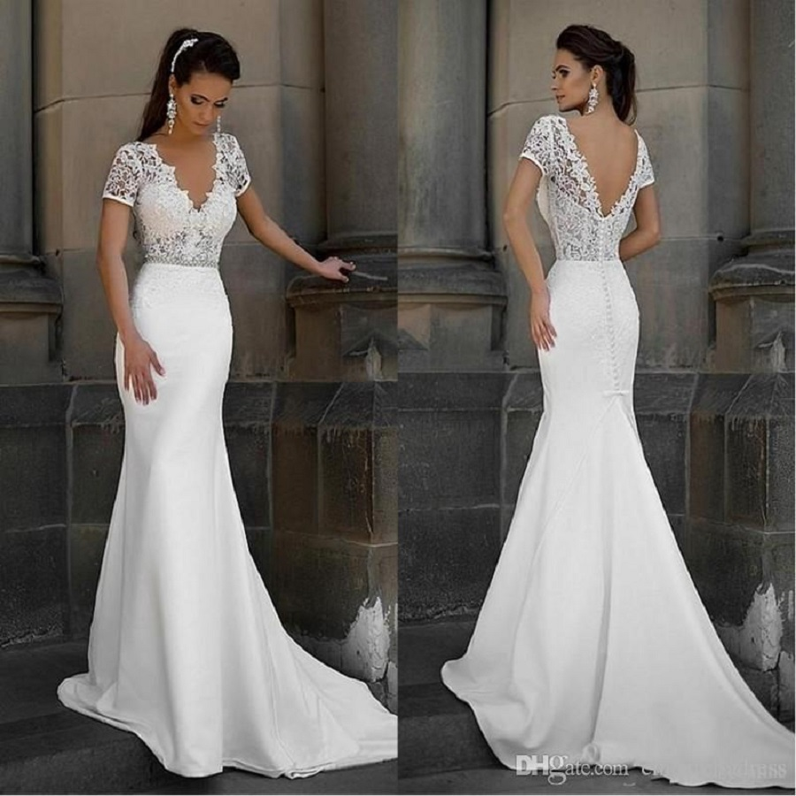 Simple Wedding Dresses but Luxurious