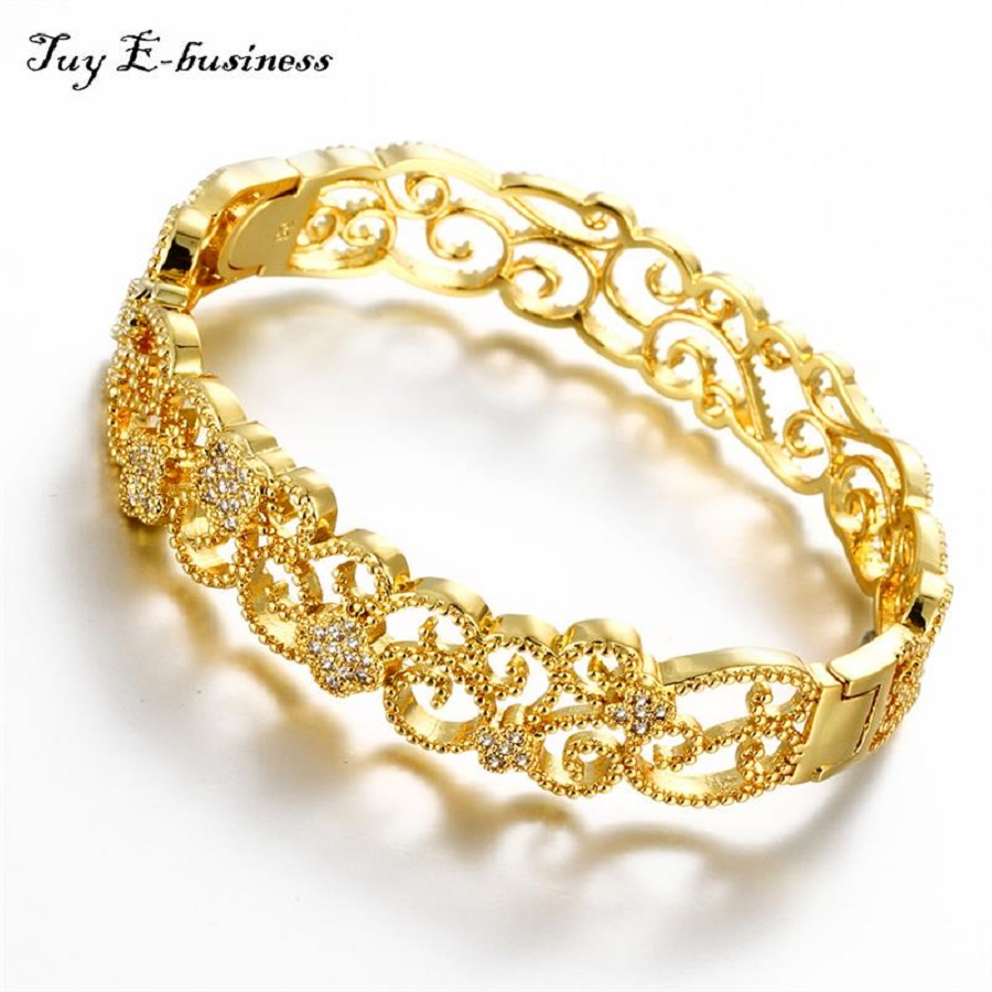 Exlusive Gold Bracelets for Women