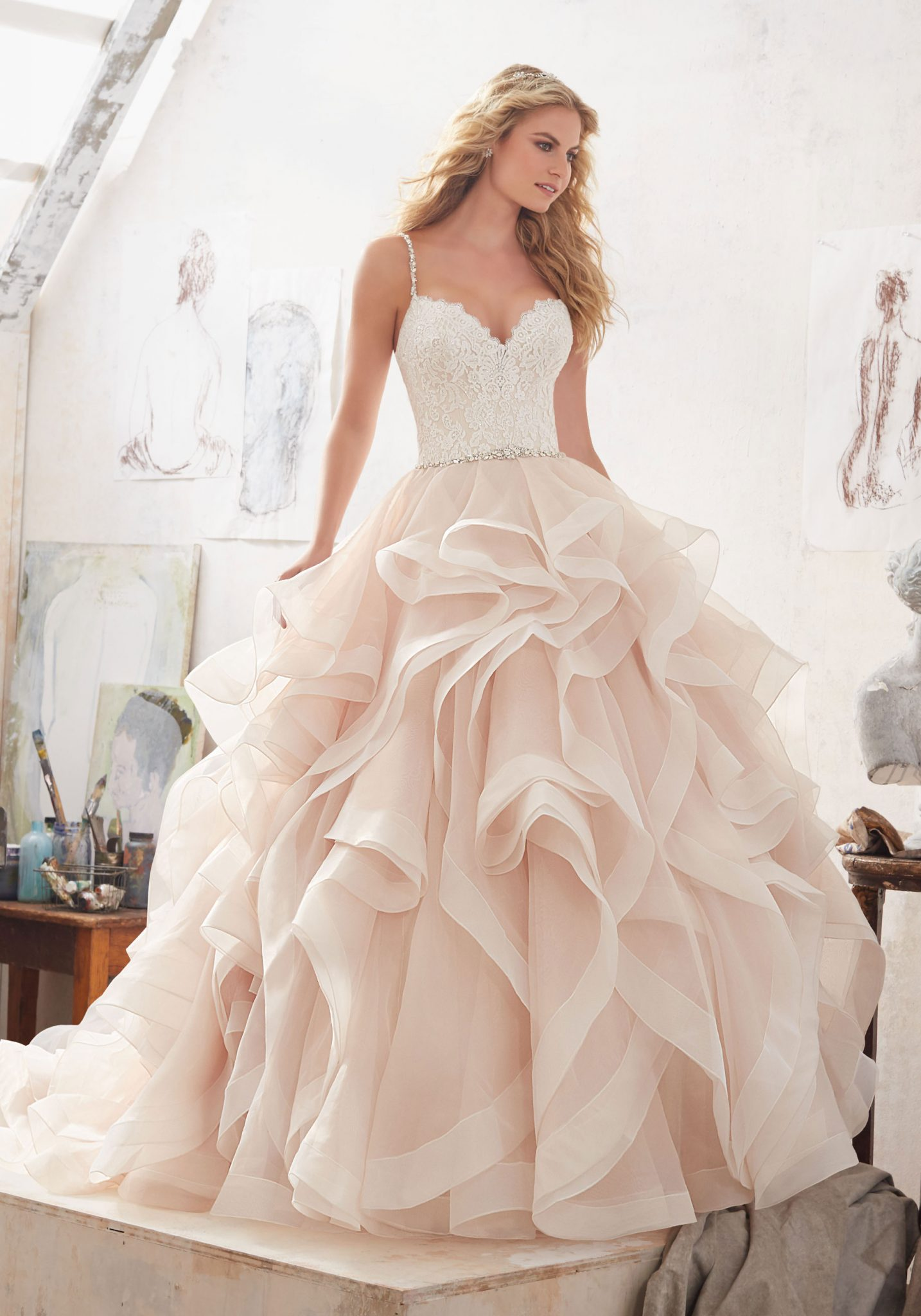 Beautiful Perfect Wedding Dress