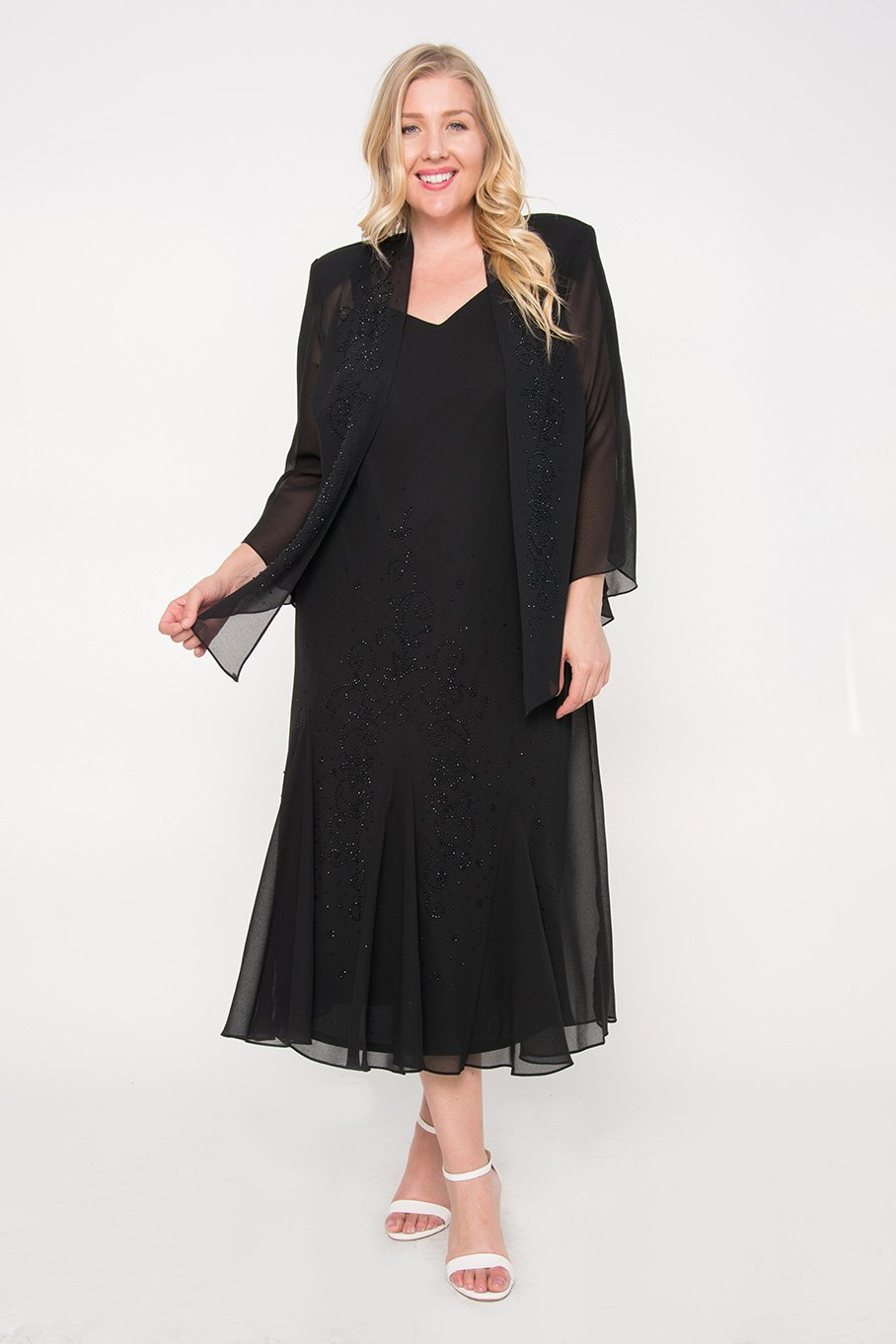 Black Plus Size Mother Of The Bride Dresses