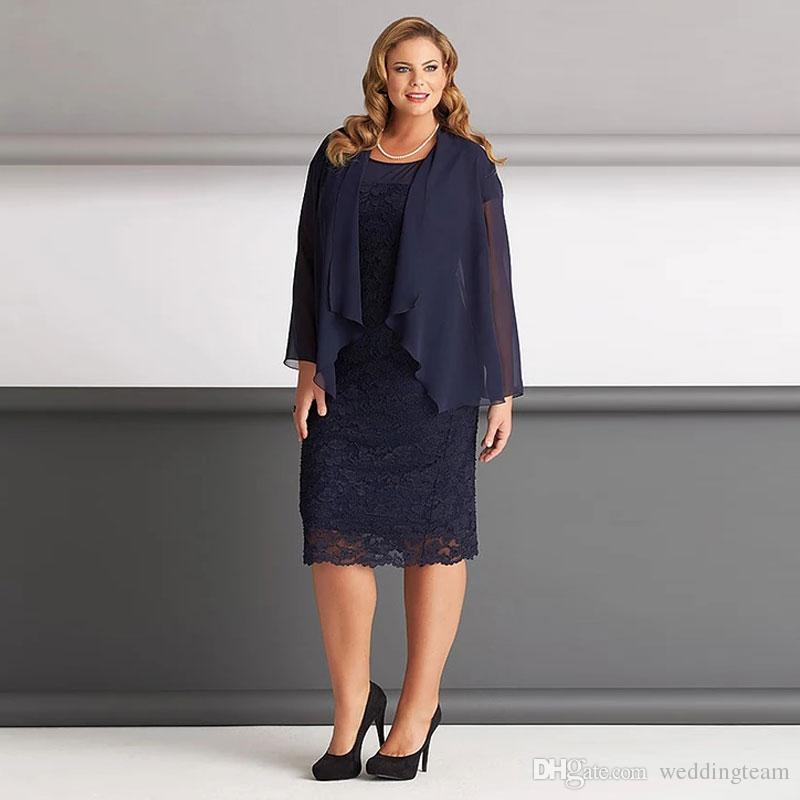 Plus Size Mother Of The Bride Dresses Black