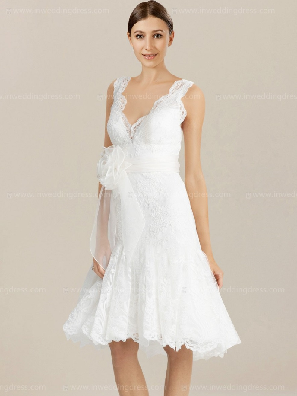 Elegant Casual Beach Wedding Dresses