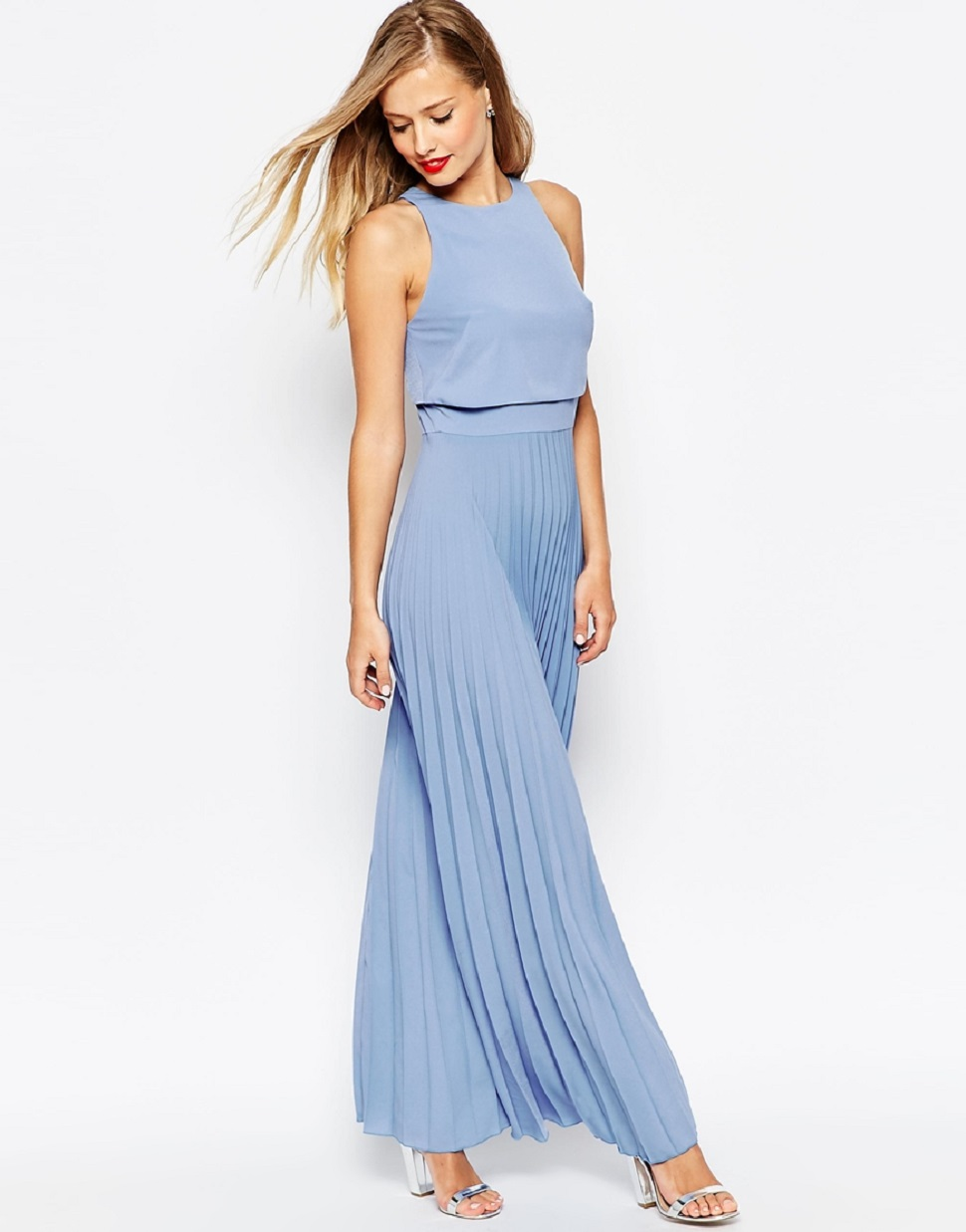 Grey Beach Wedding Dresses Guests 2018