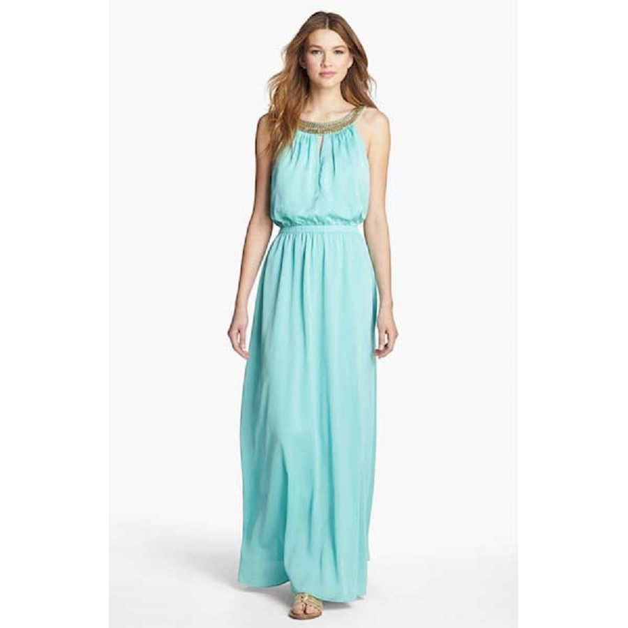Turquoise Beach Wedding Dresses Guests