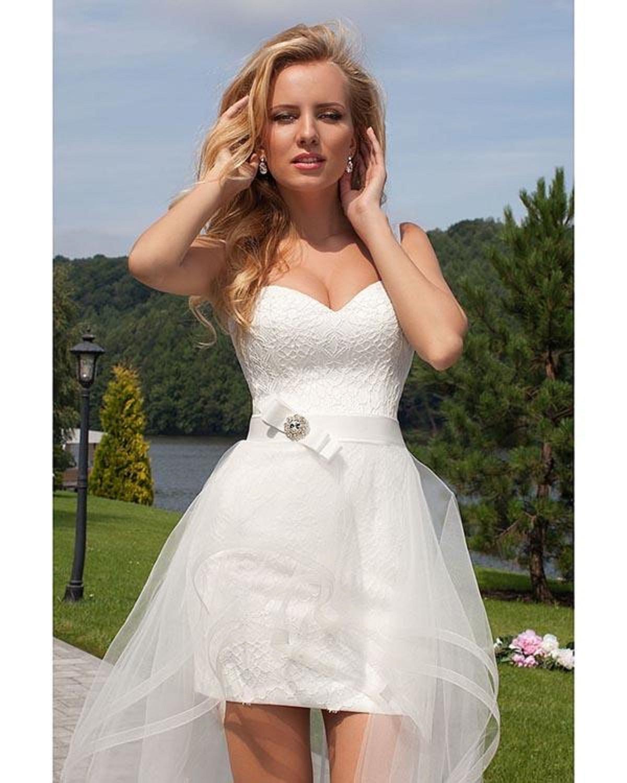 beading beach wedding dresses 2