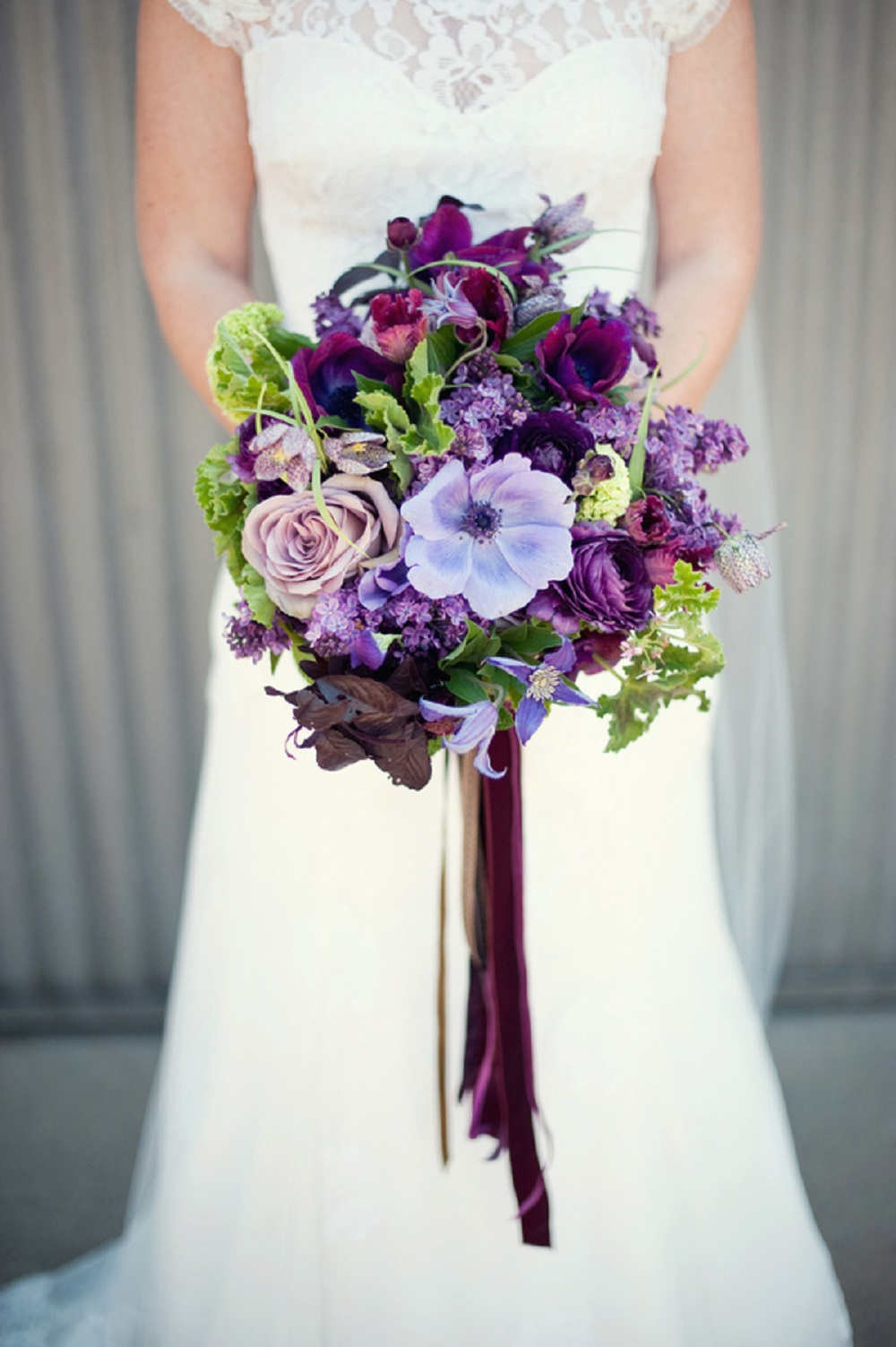 bold color flower bouquet