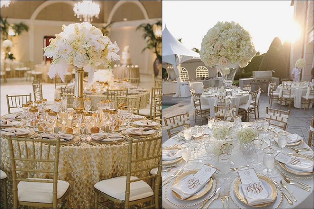 classic romance wedding theme ideas