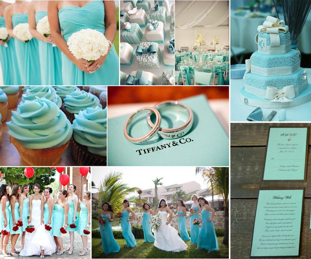 color wedding theme 2019