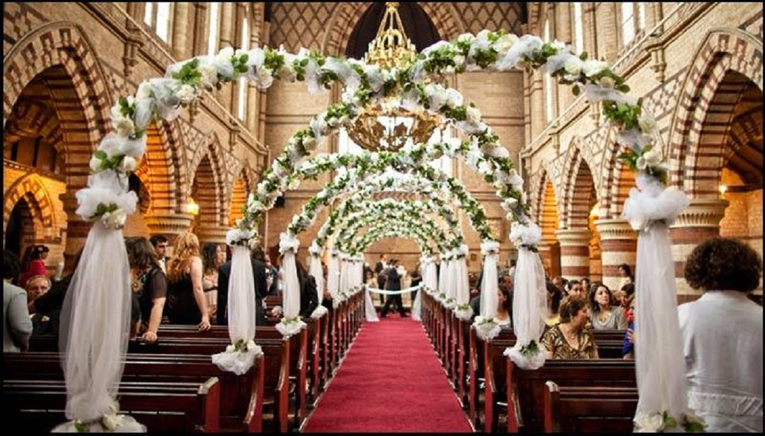 Beautiful Simple Wedding Decorations for Church