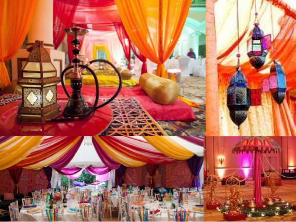 romantic ethnic wedding theme ideas