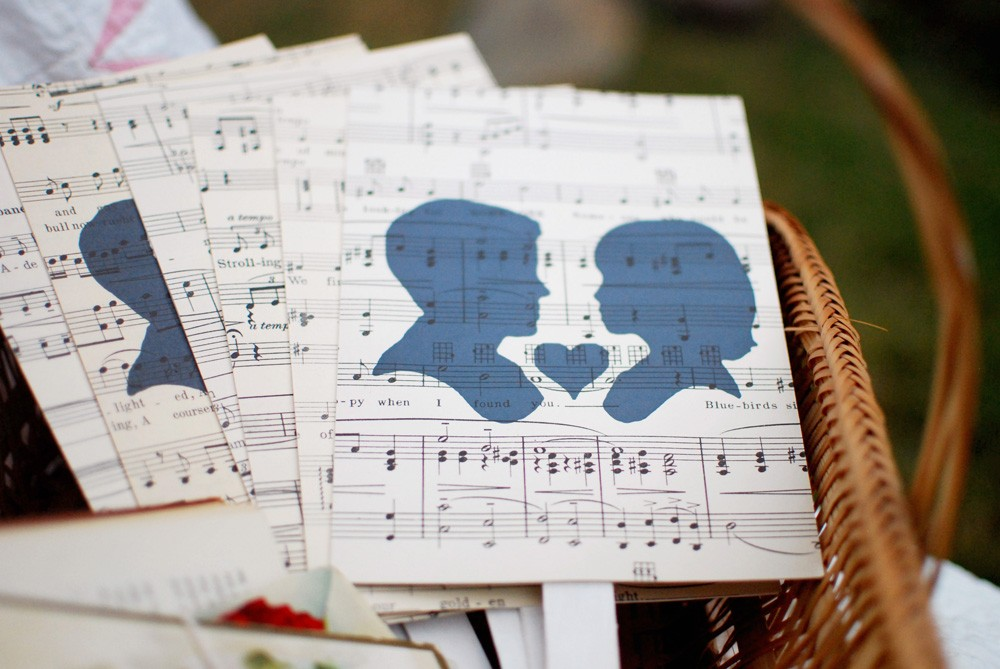 romance musical wedding theme ideas
