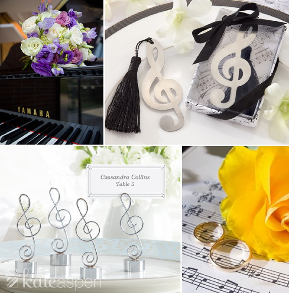 musical wedding theme ideas