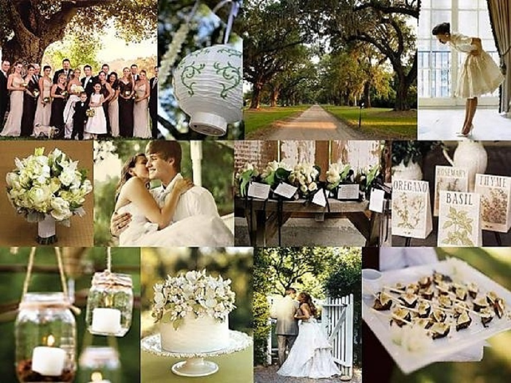 nature wedding decoration