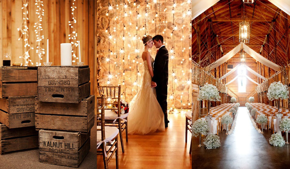 rustic wedding decoration theme