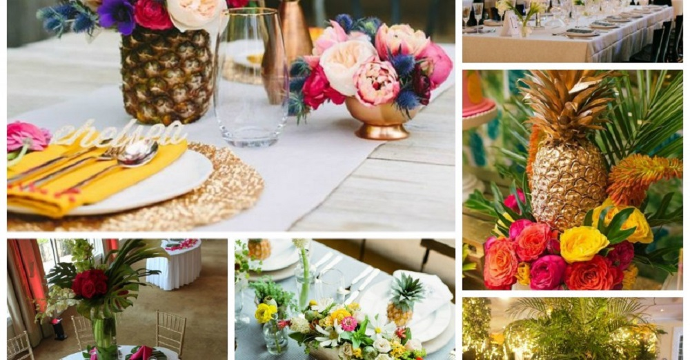tropical wedding theme 2019 ideas