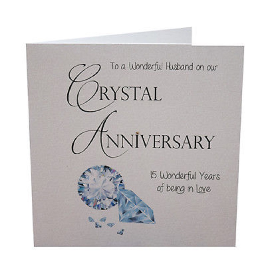 crystal wedding anniversary years gif