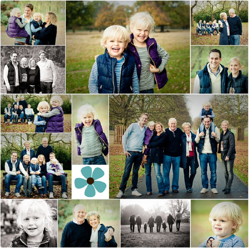 family photog album as wedding gift for parents