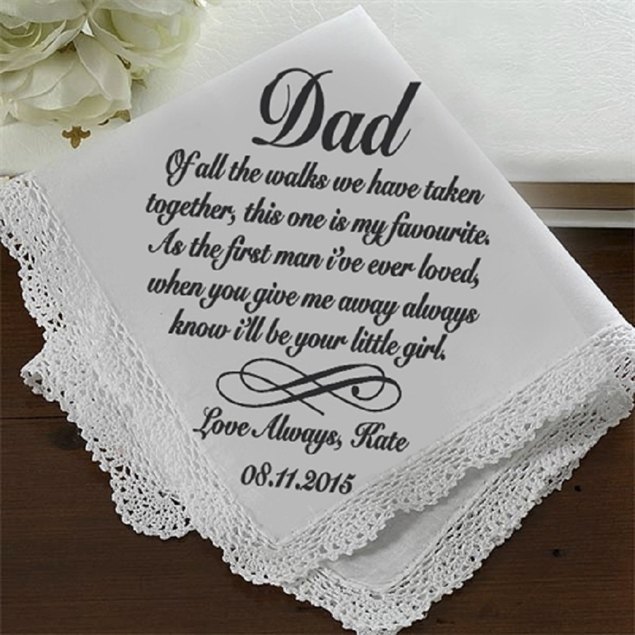 handkerchief for dad simple Wedding Gift for Parents
